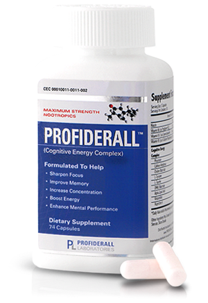 Profideral cognitive energy complex focus memory energy